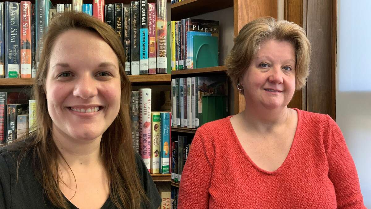 Kim Jankowiak and Becca Brown, Manistee County Library