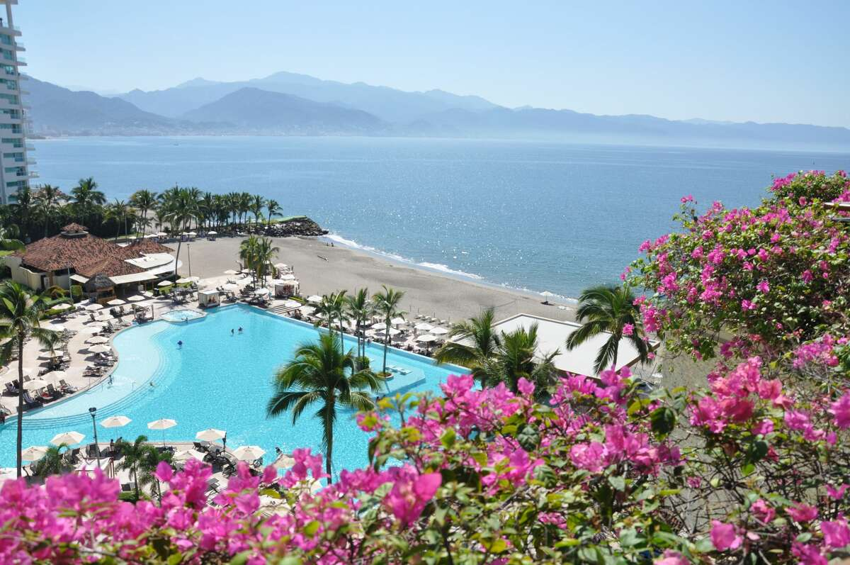 Marriott Resort Puerto Vallarta is set along the beach curve of Banderas Bay on the Pacific Ocean with the Sierra Madre mountains providing a stunning background view. Thanks to hotel capacity limits, the beach is sparsely populated so there is abundant space for families to laze in the sun or gather in a private cabana in between SUP sessions. Every spacious guestroom at the resort has a private balcony and guests may choose between pool and ocean views or opt for a peaceful garden suite offering even more quiet and seclusion for those early morning coffees. Keep in mind those ocean-facing rooms can be a special treat November through April when Humpback whales make an annual appearance in the bay.