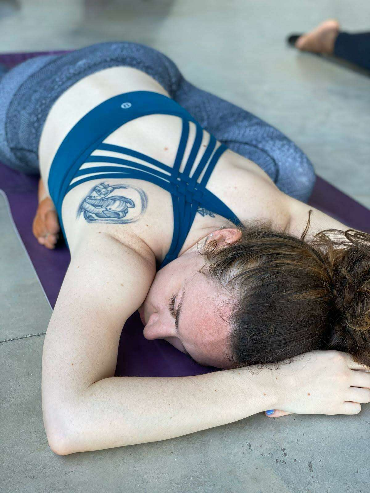 Reporter Alex Stuckey dove into her yoga practice during the pandemic, unlocking benefits she's been seeking for decades.