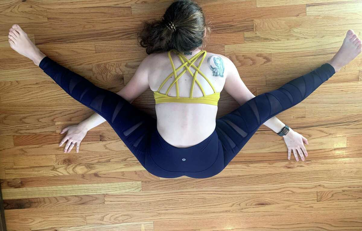 Houston Chronicle reporter Alex Stuckey dove into her yoga practice during the pandemic, unlocking benefits she's been seeking for decades.