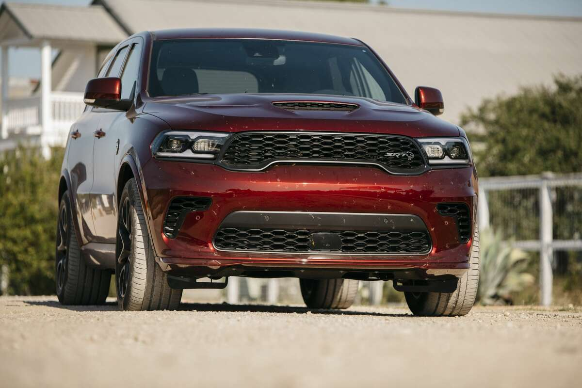 The SUV of Texas crown went to Dodge's musclebound (702 horsepower.)