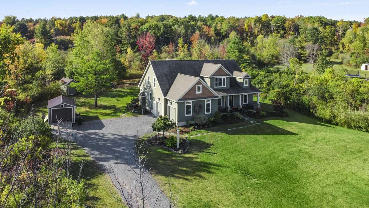 This week's selection is a custom Cape style house built in 2008. It has 2,798 square feet of living space, four bedrooms and two and a half bathrooms. Schalmont schools. Taxes: $11,315. List price: $615,000. Contact listing agent Christa Rivers of Sterling Homes at 518-859-5533. https://realestate.timesunion.com/listings/633-Settles-Hill-Rd-Guilderland-NY-12009-MLS-202030383/45760888