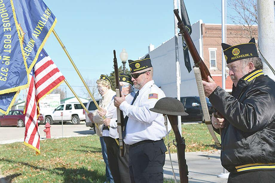 Veterans Day 2020 Photo: Rochelle Eiselt   Journal-Courier