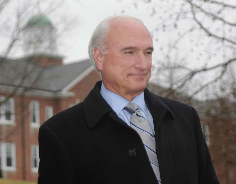Ridgefield First Selectman Rudy Marconi is asking families to reconsider Thanksgiving plans in light of the coronavirus pandemic. Photo: Macklin Reid / Hearst Connecticut Media