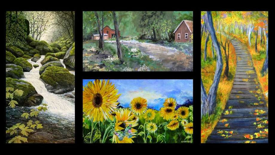 Thomaston's Ten-2-One Artists' new show at the Crescent Gallery opens Nov. 19. Photo: Contributed Photo