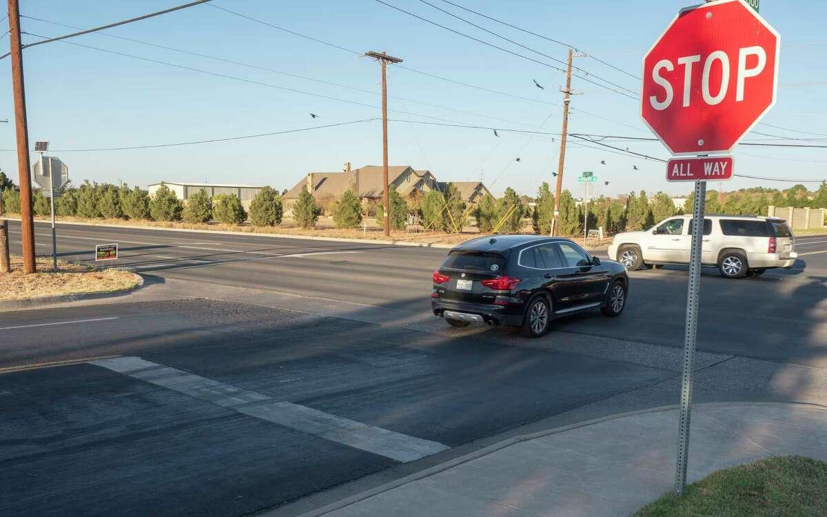 Four-way stop sign intersections. 11/11/2020 Tim Fischer/Reporter-Telegram