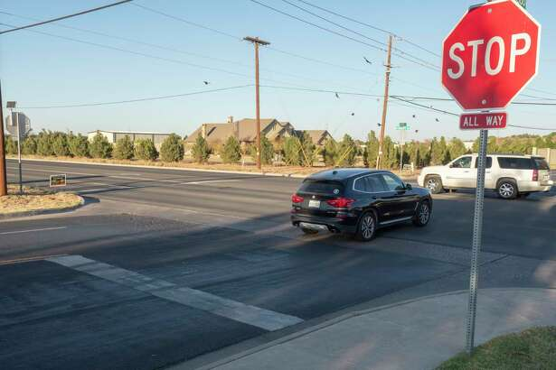Four-way stop sign intersections. 11/11/2020 Tim Fischer/Reporter-Telegram