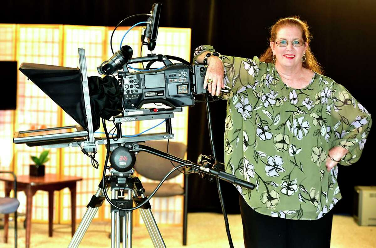 Deborah Gilbert, of Clinton, is the host of her program Arts and Entertainment with Deborah Gilbert at VSCTV.