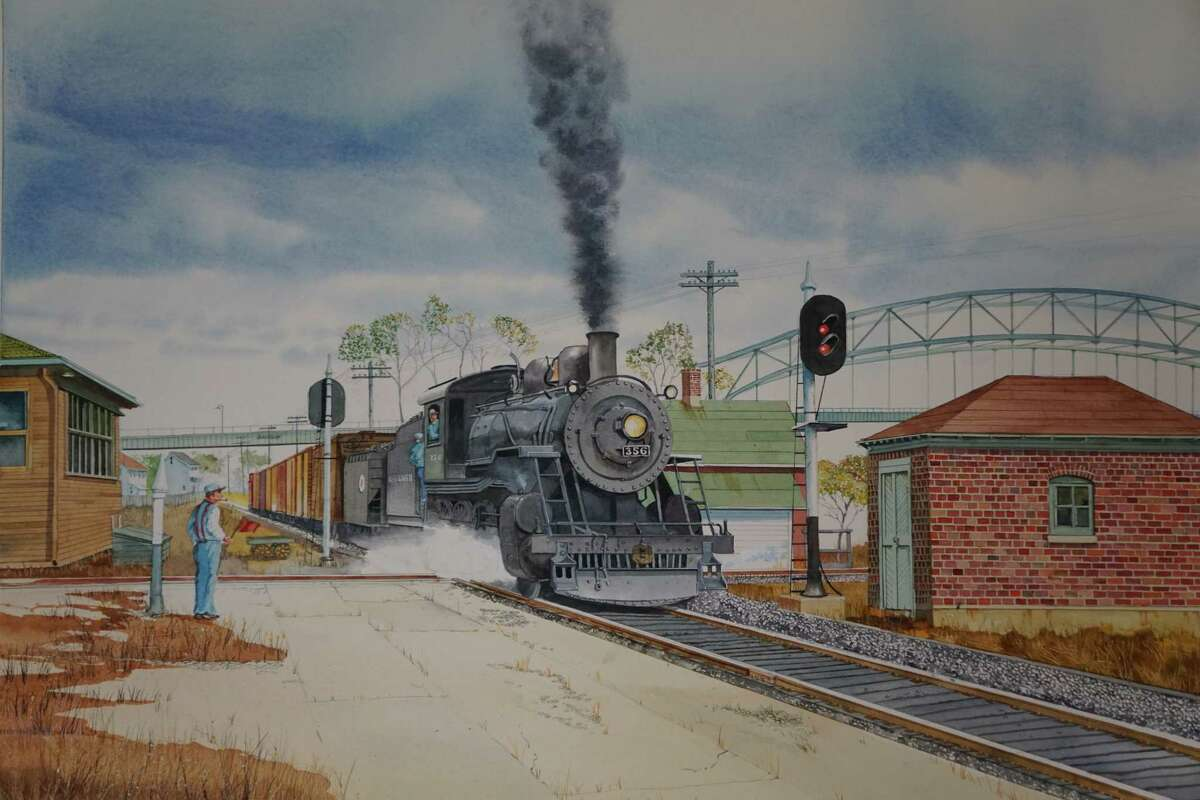 The family-friendly Holiday Train Show exhibit is back at the Connecticut River Museum in Essex for the 27th year, opening Nov. 24. The show runs through Feb. 14. Connecticut River Museum, 67 Main Street, Essex, open 10 a.m.-5 p.m. Tuesday through Sunday, $10 adults, $8 seniors, $6 children age 6-12, free for children age 5 and under. For more information, call 860-767-8269 or go to www.ctrivermuseum.org. Above, Train artist Steve Cryan's latest depiction for the show.