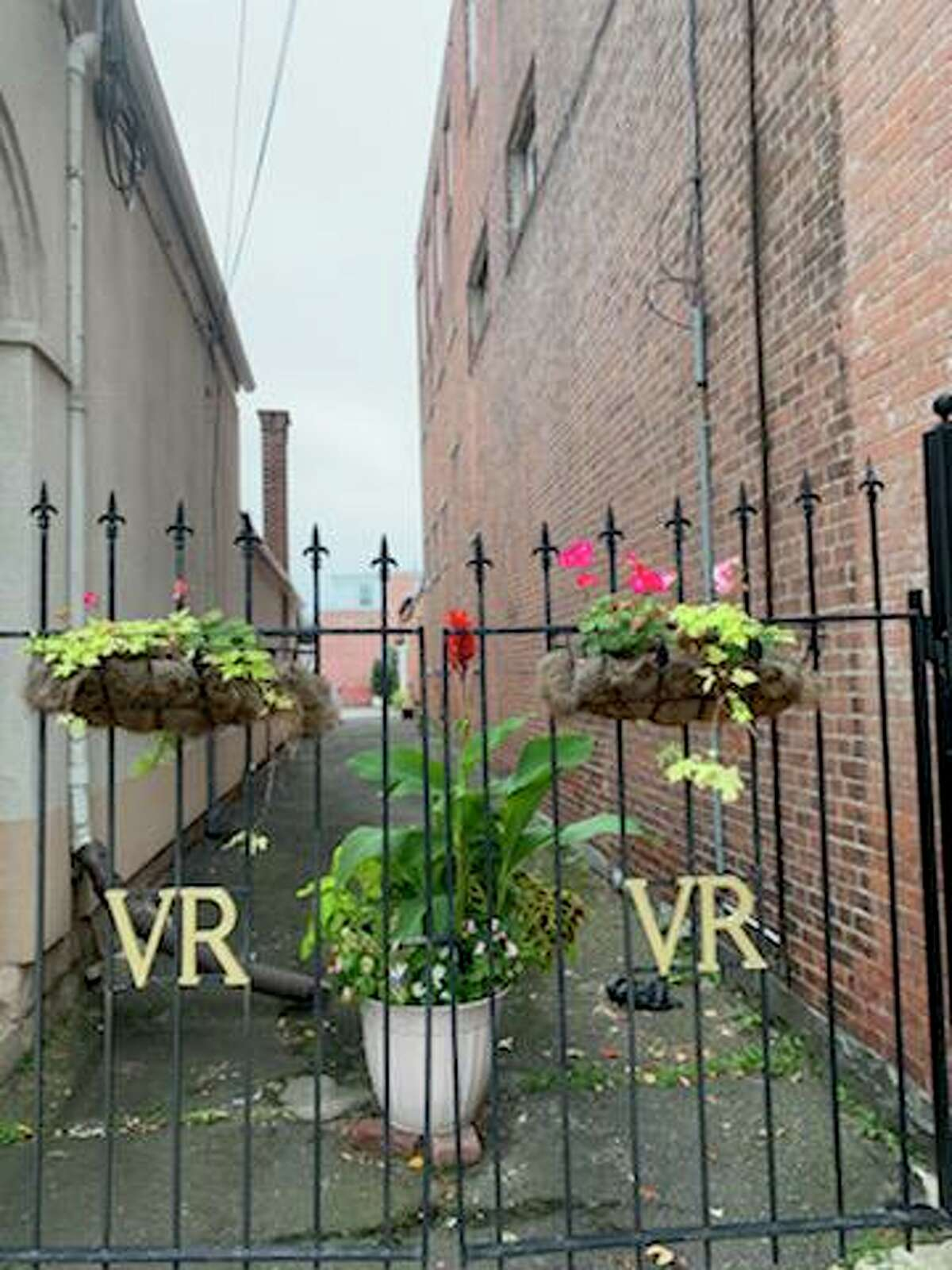 An alley near the Venetian Restaurant on East Main Street, which Blue Haus Group founder Tim Moore believes popup events or public art would work well and encourage people to linger.