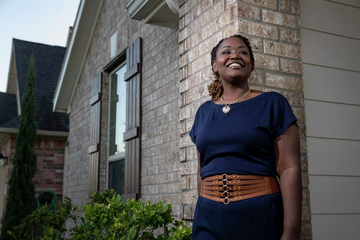 """""""It's an opportunity to build wealth and have something that you own,"""" said Angel Tillman, who served in the Navy."""