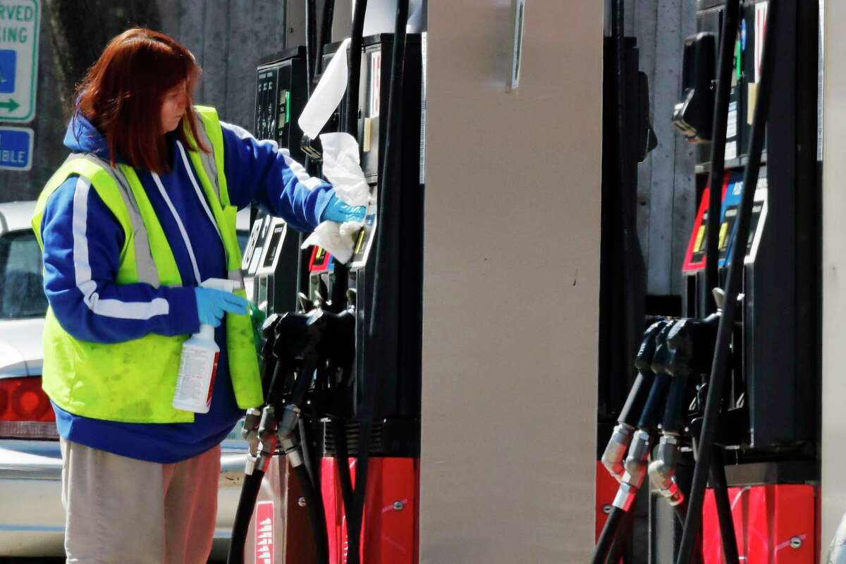 Hopes for a coronavirus vaccine spurred the first gasoline price increase in weeks.