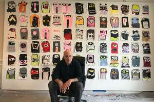 """A luminary in the Texas art world, Sherman leads the school of """"bombastic contemporary painters."""""""