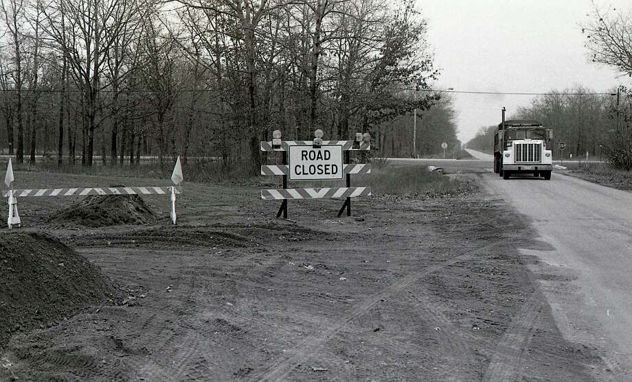 From the Nov. 13, 1980 issue of the News Advocate: Construction work on M-55 and Wall St., near Eastlake was completed in November of 1980. See today's 40 YEARS AGO portion for more information. (Manistee County Historical Museum photo)