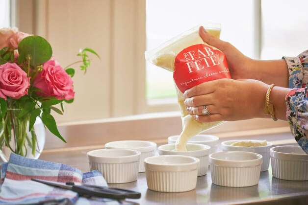 The Fab Fete is a new concept from Houston catering company Swift + Company offering freezer-to-oven gourmet souffles, available for nationwide shipping. The company also sells souffle refill pouches. Photo: Terry Vine / Copyright Terry Vine