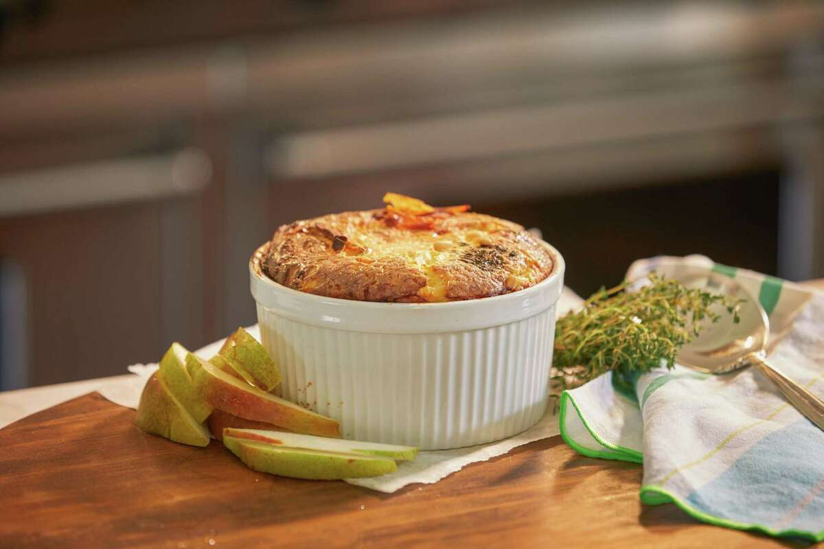 The Fab Fete is a new concept from Houston catering company Swift + Company offering freezer-to-oven gourmet souffles, available for nationwide shipping. Shown: The Brio Trio.