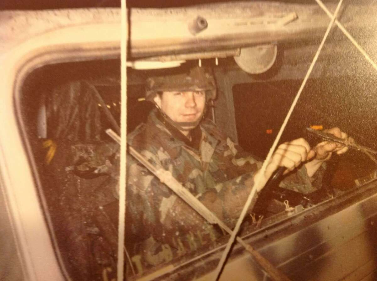 Frank Gonzalez served four years in the U.S. Army starting in 1988.