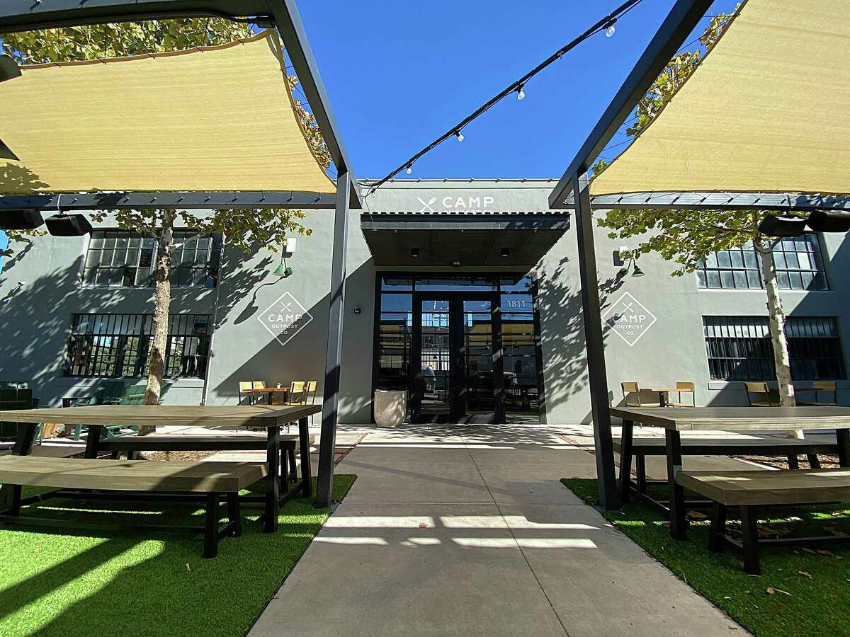 Camp Outpost Co. on South Alamo Street is a new venture from the Piatti family of restaurants.