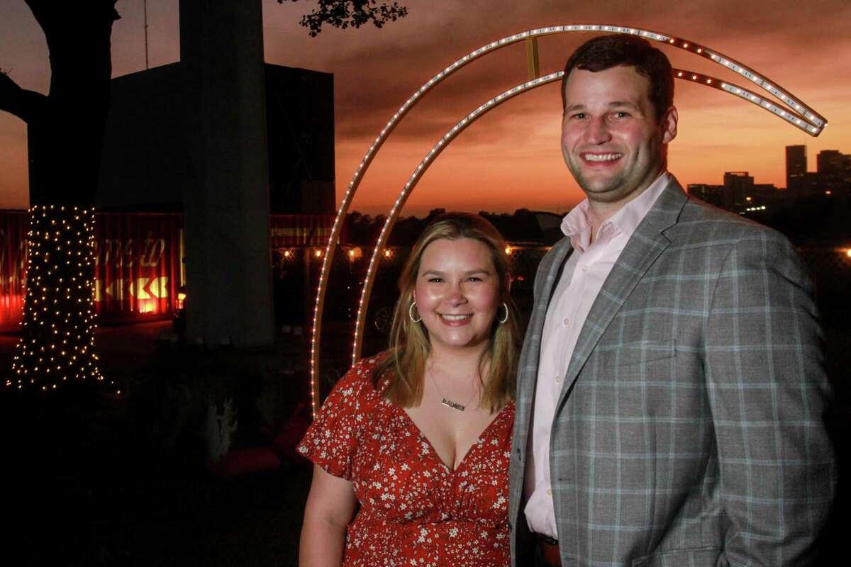 Co-chairs Mari Treviño Glass and Bryan Glass