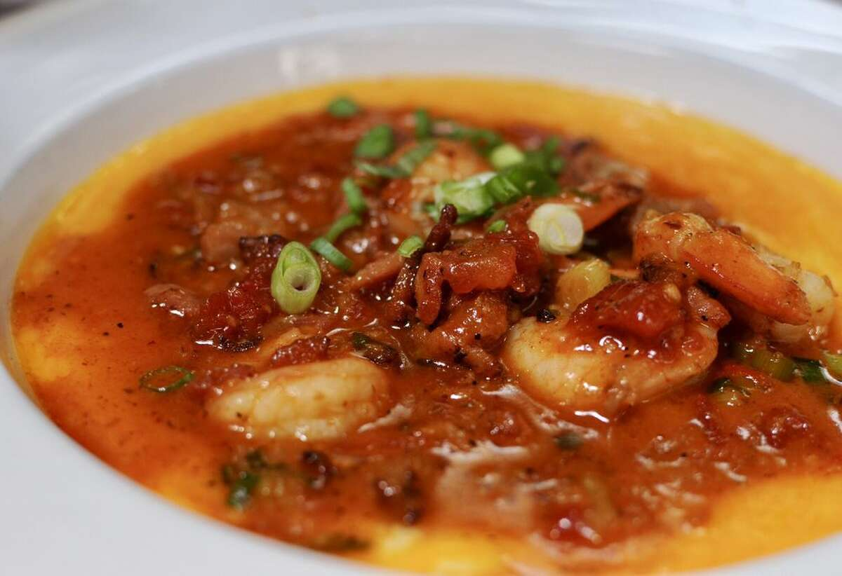 Shrimp and grits at Brenda's French Soul Food