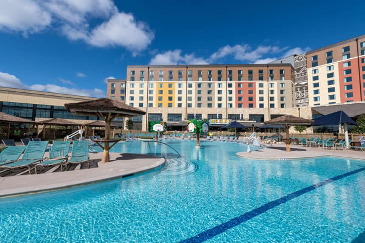 Kalahari Resorts Round Rock has three acres of outdoor pools.