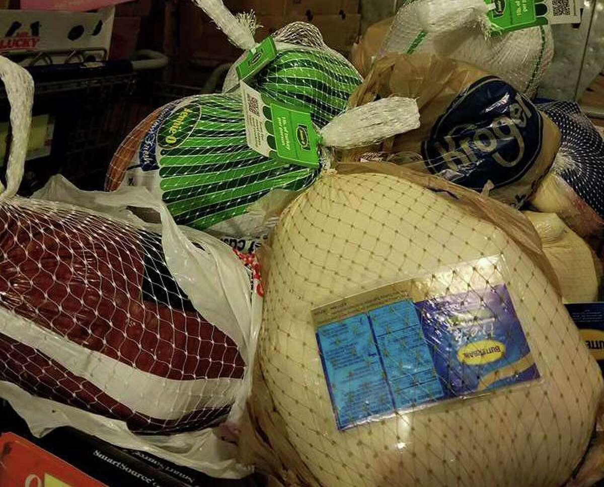 Food collected through drives, like the one organized by St. Ignatius of Loyola Catholic Church, help Northwest Assistance Ministries be able to provide meals for families in need during Thanksgiving and December holidays.
