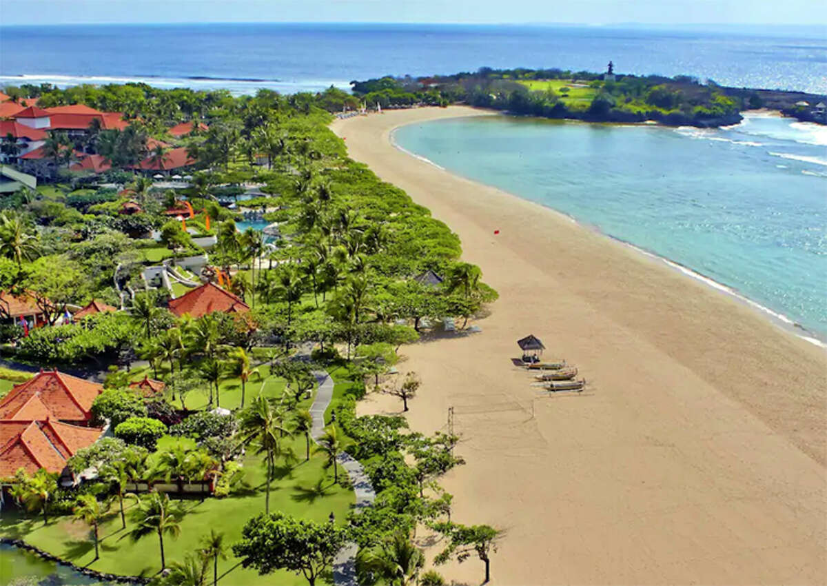 Exotic resorts like the Grand Hyatt Bali could become in-demand award trips once travel opens up again.