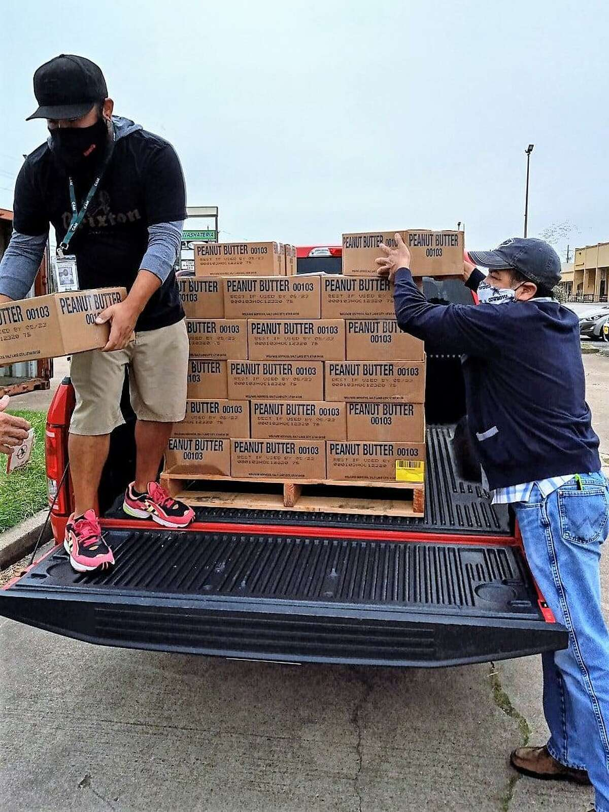 Cypress Assistance Ministries received a delivered donation of non-perishable food from the Church of Latter-Day Saints.