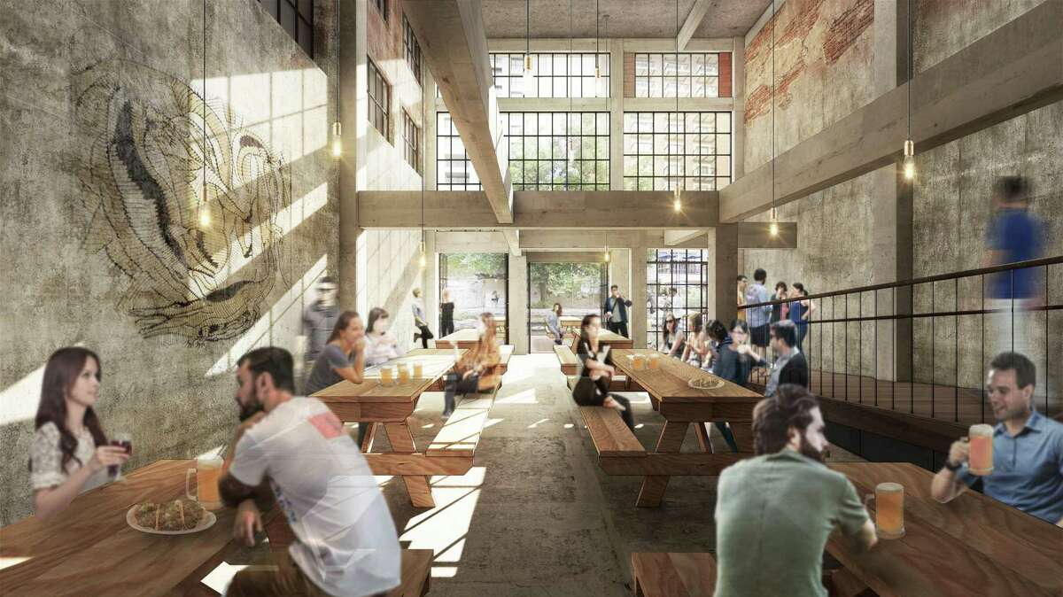 Potchernick's Cervecería will be a new restaurant and brewery in the former downtown home of Potchernick's Sporting Goods at 211 N. St. Mary's St.