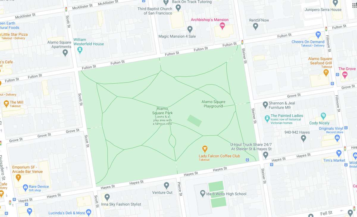 The SF Fire Department reported a gas leak and fire on the 1000 block of Fulton between Pierce and Steiner on Nov. 12, 2020.