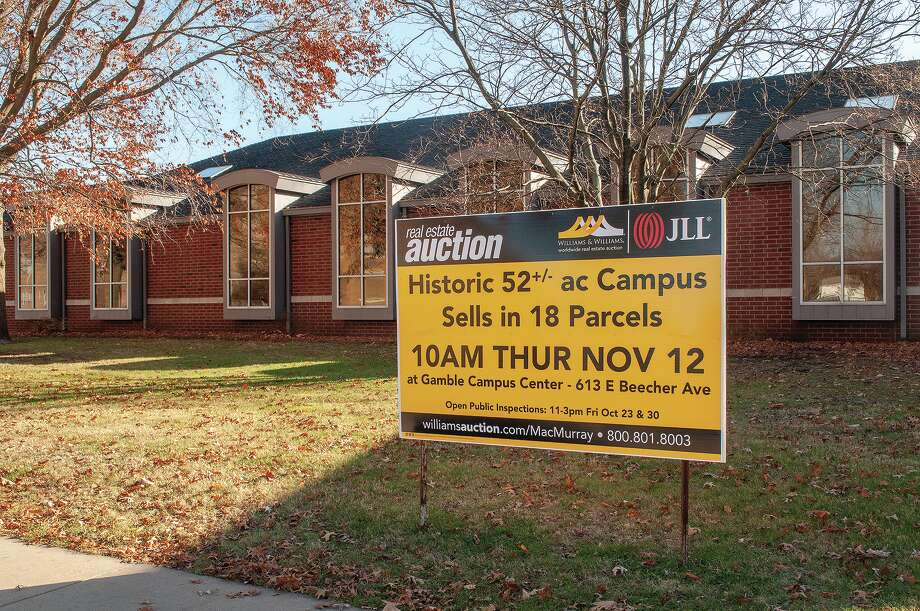 The last phase of MacMurray College's closure ended Thursday when the entire campus sold — in separate tracts — at auction for $1.35 million in bids. Photo: Darren Iozia   Journal-Courier / Jacksonville Journal-Courier