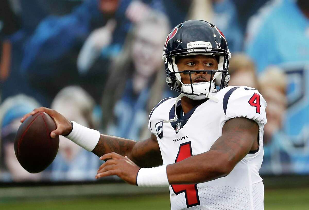 Despite the Texans' 2-6 record, quarterback Deshaun Watson ranks in the top 10 in every major NFL passing category.