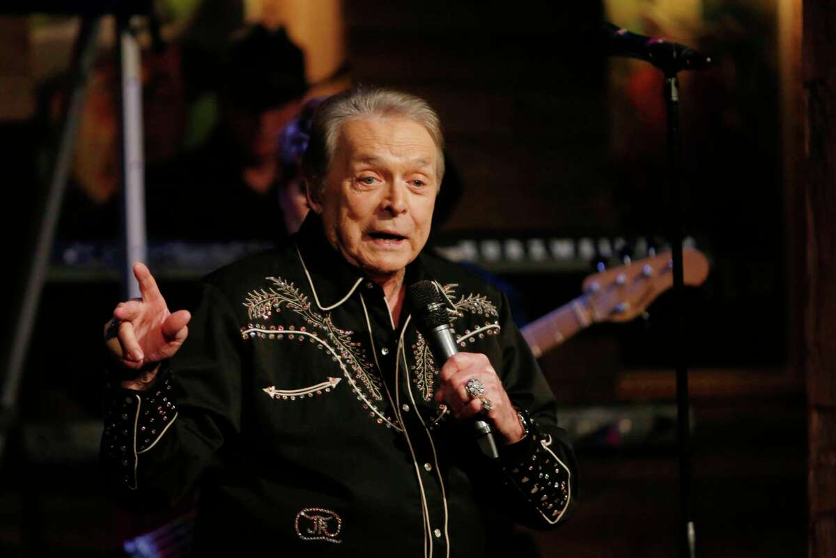 Mickey Gilley and the Urban Cowboy Band perform at Dosey Doe Friday, April 3, 2015, in The Woodlands. ( Jon Shapley / Houston Chronicle )
