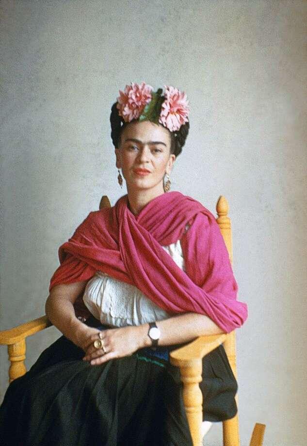 Frida In Rocking Chair Photo: Nickolas Muray Copyright Nickolas Muray Photo Archives