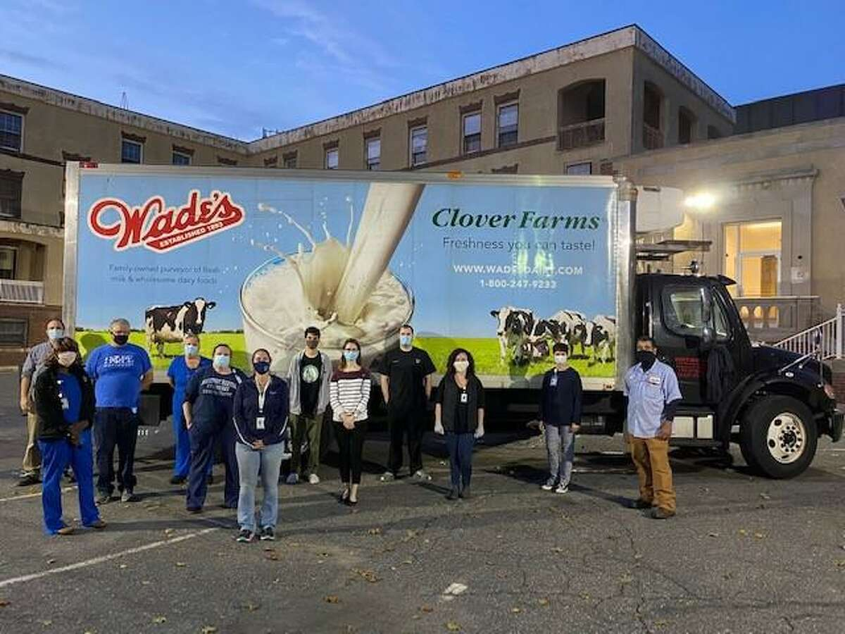 Bridgeport Hospital will sponsor a free food distribution 5:30 to 6:30 p.m. Nov. 17, 2020 in the parking lot of the former School of Nursing building at 200 Mill Hill Ave. in Bridgeport.