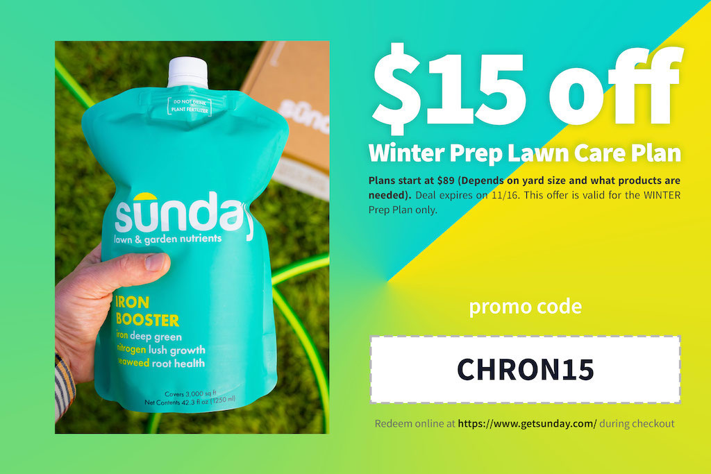 This offer is only good through November 16! Remember to use code: CHRON15.
