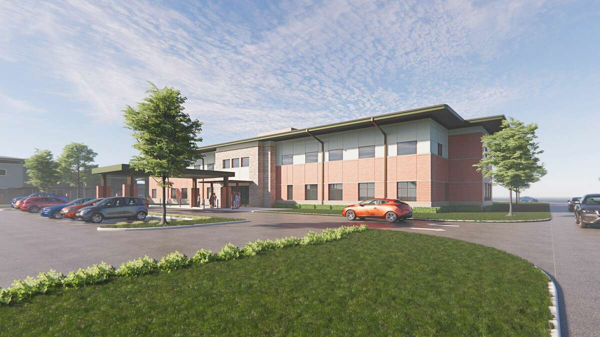 Designed by Kirksey Architecture and constructed by Tellepsen Builders, The Menninger Clinic Outpatient Services Center will be located on the psychiatric hospital's 50-acre campus at 12301 S. Main near the Texas Medical Center.