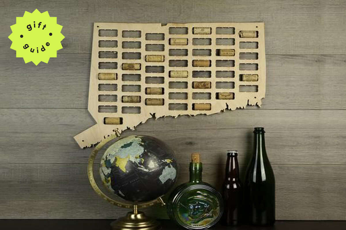 Connecticut Wine Cork Map, Starting at $39.99 on Etsy