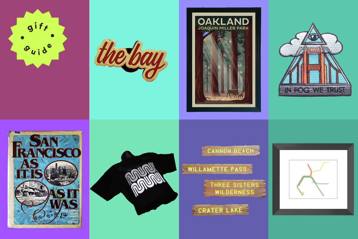 Etsy is one of the best places to find niche and nostalgic gifts to remind someone of The Bay Area.