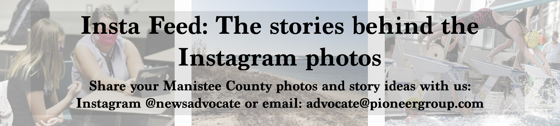 Manistee News Advocate Insta Feed banner