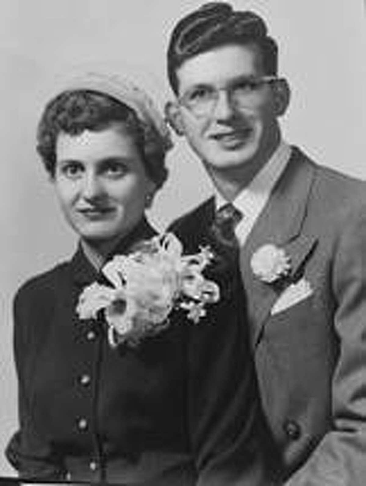 Joe and Susie Bean at their wedding
