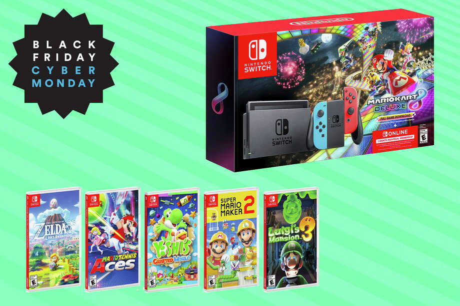 Check out our Black Friday and Cyber Monday coverage to score great discounted gifts for everyone on your holiday shopping list. Photo: Nintendo/Hearst Newspapers