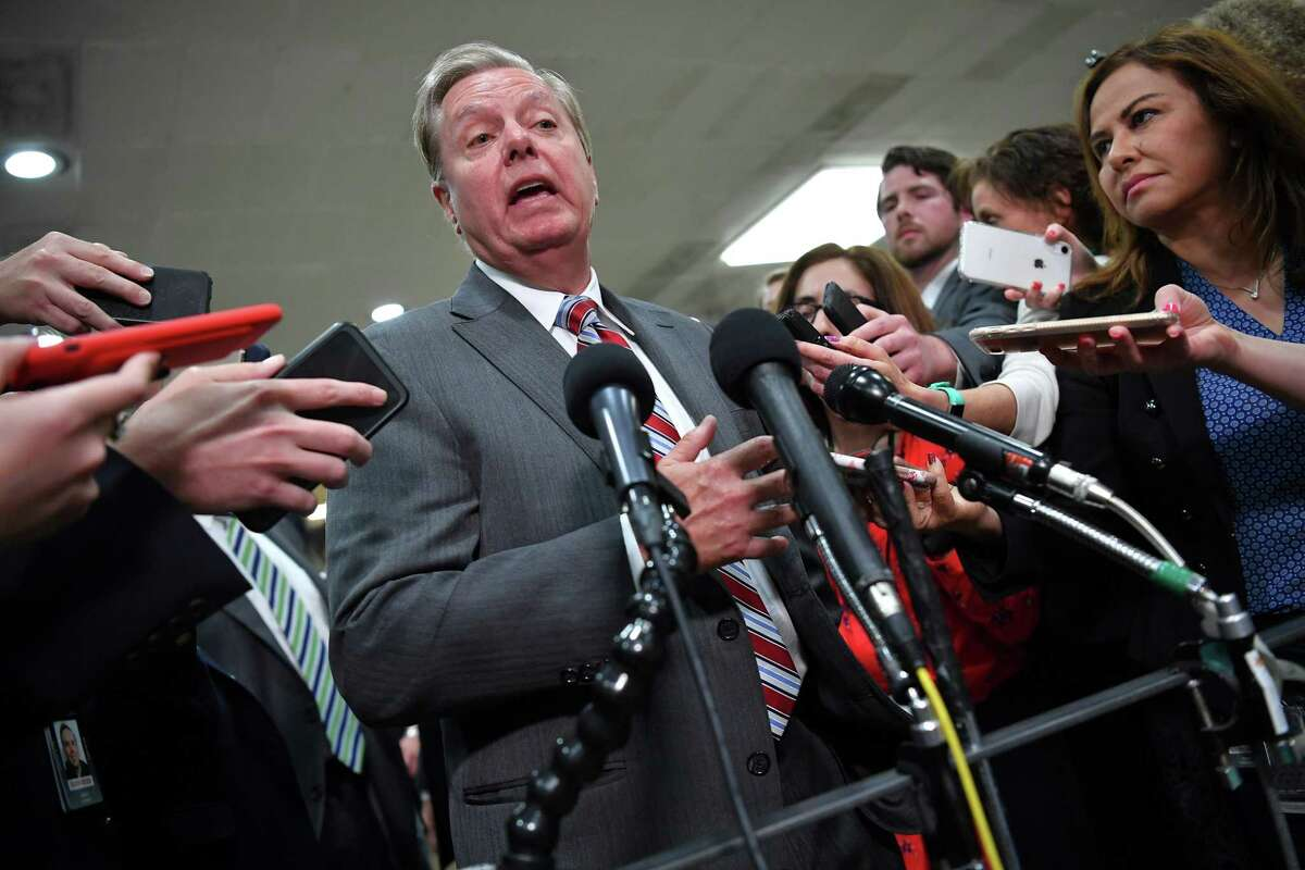 """South Carolina Lindsey Graham has said """"everything should be on the table"""" as some Republicans discuss having state legislatures appoint their own electors to overturn election results. This is a poisonous and repulsive idea."""