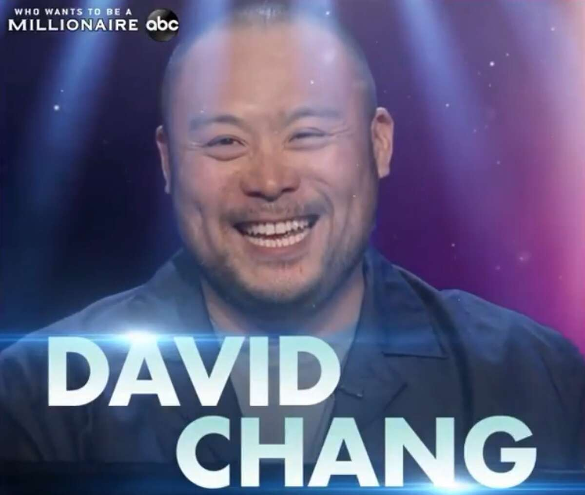 Celebrity chef David Chang will be competing for the Southern Smoke Foundation during the Sunday, November 15, episode of Who Wants to Be a Millionaire. (Screengrab courtesy of David Chang via Instagram)