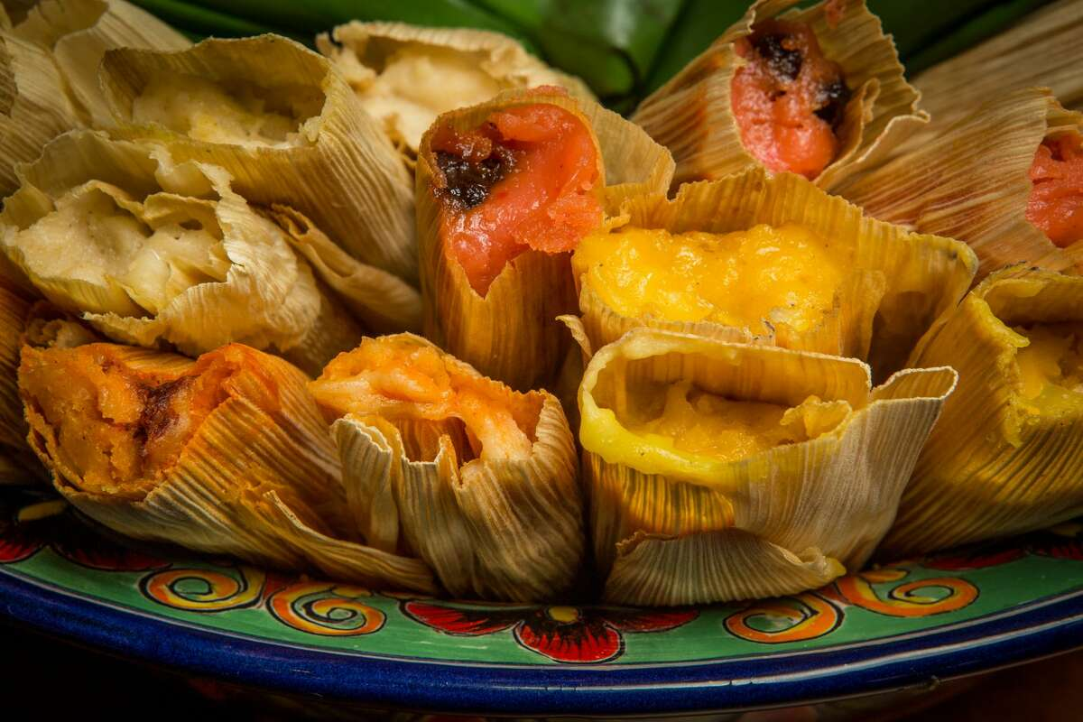 Picos' specialty includes a family favorite of ours, tamales made of northern-style pork in red chile sauce.  Prices vary according to the type of tamales you order and range from $9.50 for half a dozen of the Norteños Tamales to $19 for the Tamales Oxaqueños.