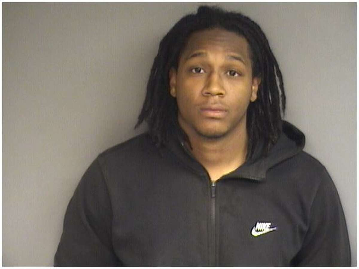 Rashad Sellers, 27, of West Haven, charged by Stamford police with the murder of Stephon Walthrust of New York on March 30 in Stamford.
