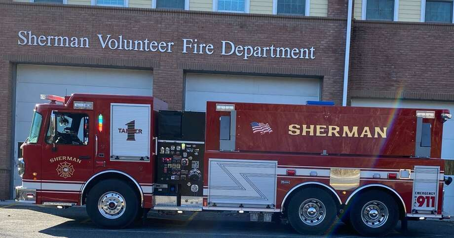 """Sherman Volunteer Fire Department welcomed a new tanker truck, Tanker 1, a resource that will provide much more """"comprehensive fire protection"""" in town. Photo: Courtesy Of Sherman Volunteer Fire Department / Danbury News Times Contributed"""