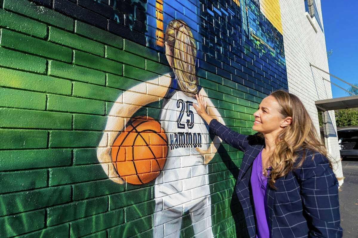 San Antonio Spurs assistant coach Becky Hammon was recently honored with a mural and a brief documentary on her career and drive to one day become an NBA head coach.