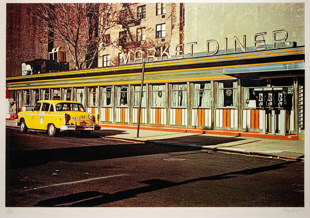 """""""Market Diner"""" from 1979 by John Baeder is one of the pieces on display at the Housatonic Museum of Art through December 2021."""