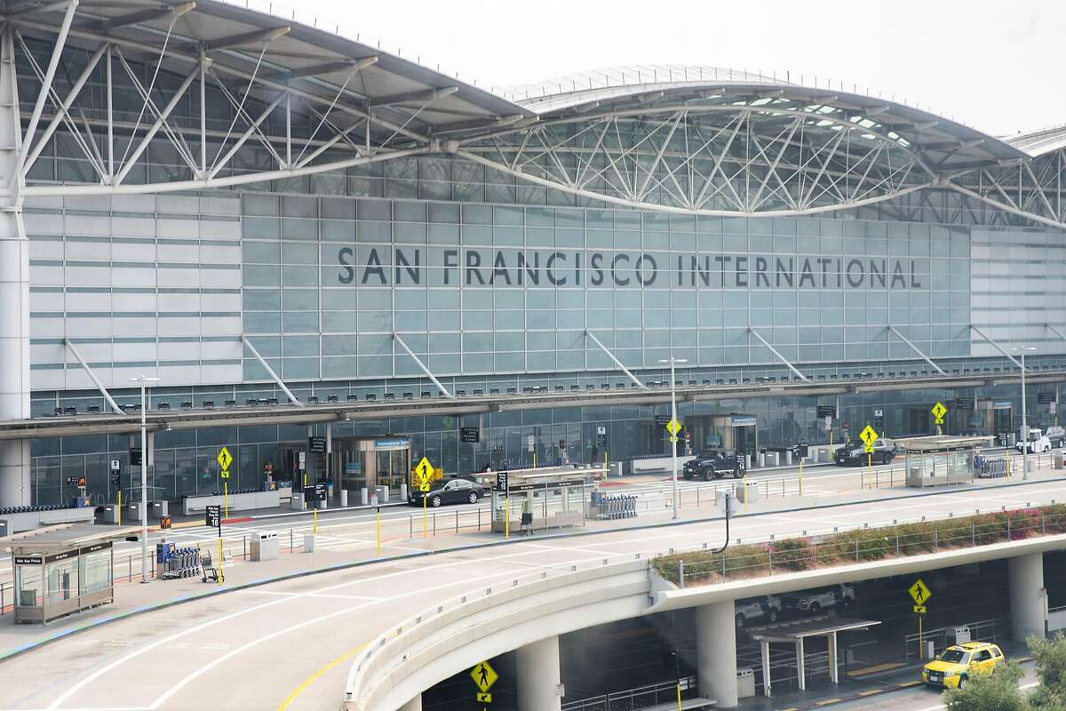 Authorities are investigating the death of a person whose body was found near a San Francisco International Airport parking garage.